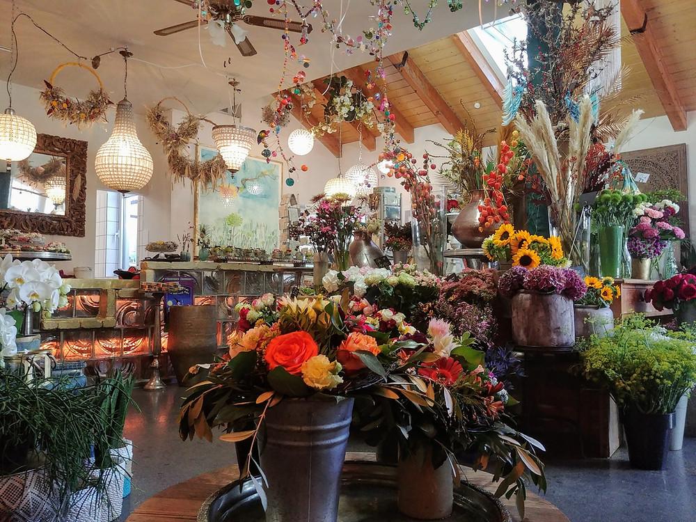 Unser Ladengeschäft in Schorndorf - Blumen pur