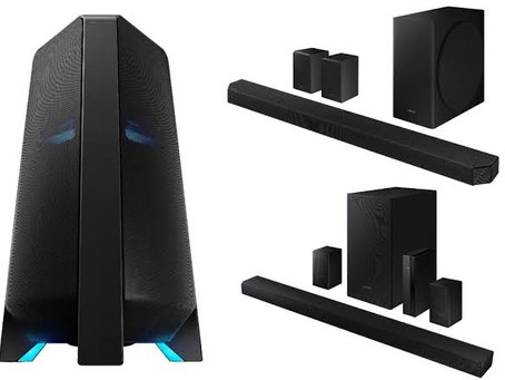 Samsung Sound Tower, Soundbar Speakers Launched in India