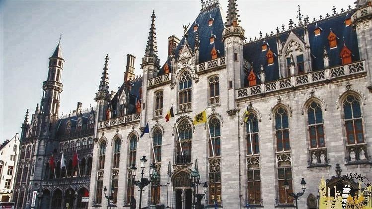 Palacio Provincial. Brujas (Bélgica)