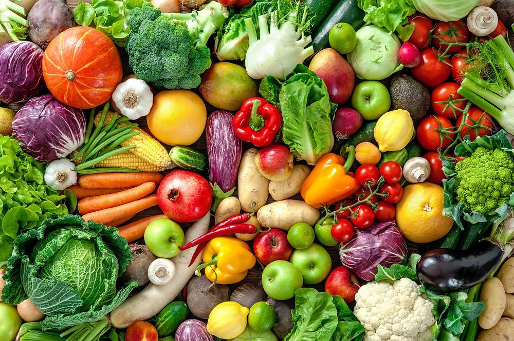 légumes vitamines mineraux