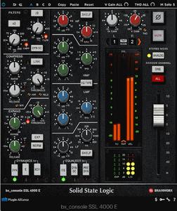 Brainworx SSL 4000 E console emulation