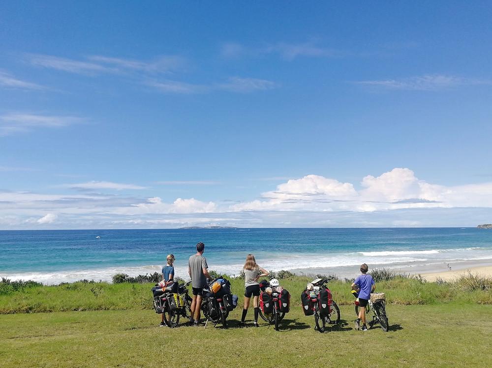 Tour du monde à vélo en famille : Australie