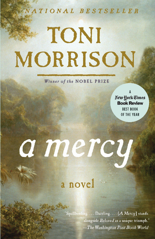 book cover of Toni Morrison's A Mercy