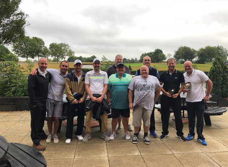 Rain doesn't stop play at Fareham towns Golf event