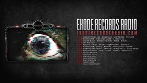 Schedule of May [Exode Records Radio]