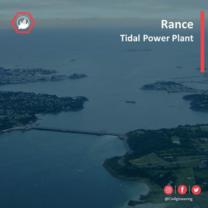 Rance Tidal Power Plant