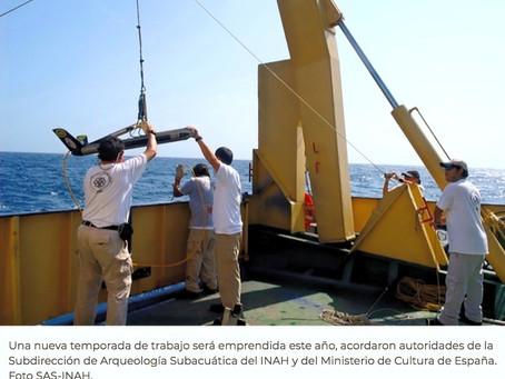 """México y España redoblan esfuerzos para encontrar el pecio """"Nuestra señora del Juncal"""""""