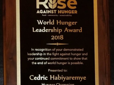 From Hunger Survivor to Hunger Fighter: Cedric's Story