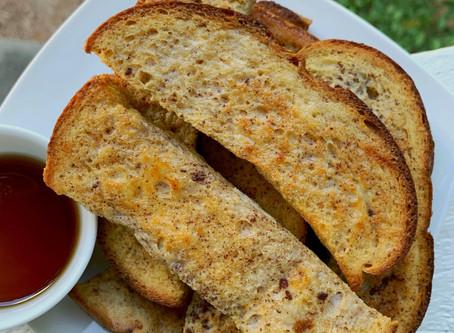 Baked French Toast Sticks (Freezable!)