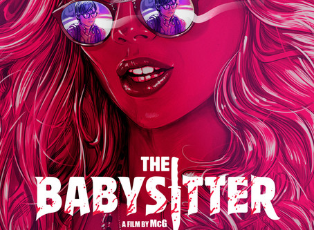 Two Reviews today, The Babysitter & V Wars