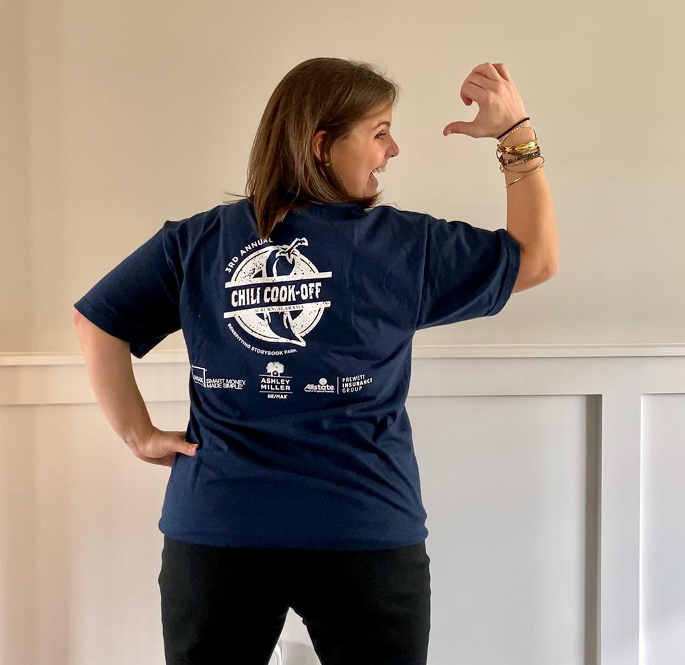 fundraiser event t-shirt