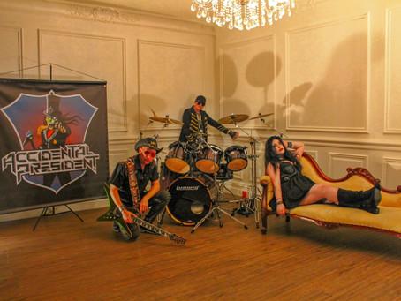 Accidental President: Australian Alternative Hard Rockers Release Video 'Hateful'
