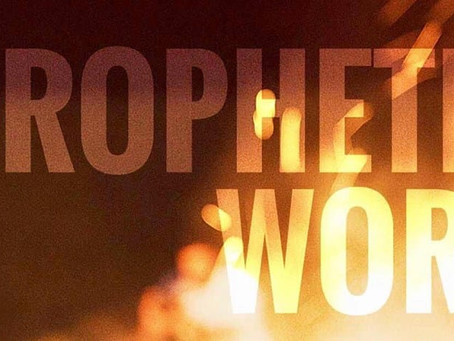 Its BreakOut Prophetic Weekend again this Sunday!