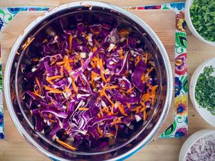 Purple Spicy Coleslaw