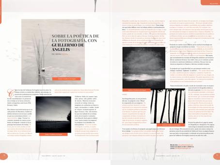 Entrevista a Guillermo De Angelis, sobre la poética de la fotografía