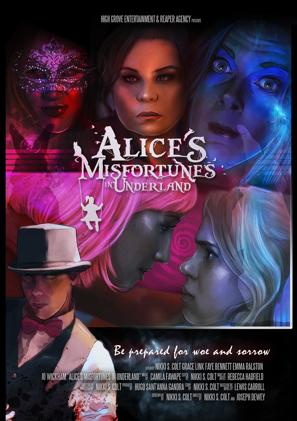 Alice's Misfortunes in Underland & Through The Looking Glass poster
