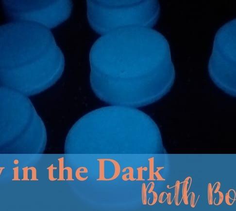 Glow In the Dark Bath Bombs