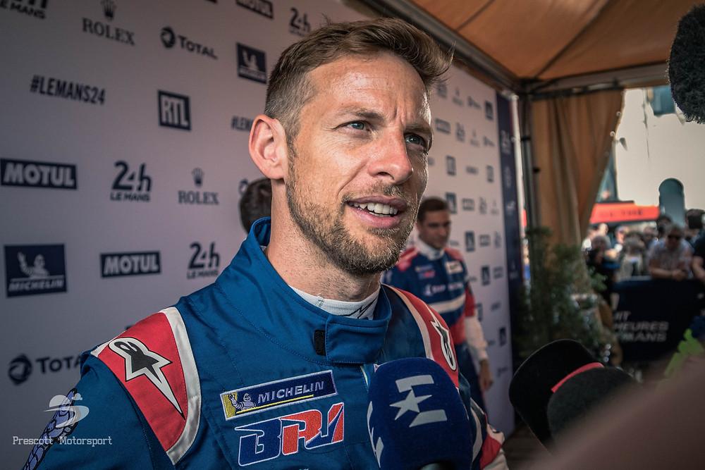 Jenson Button at Le Mans