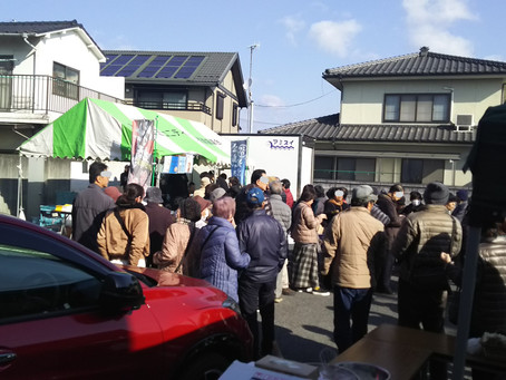 大竹商店街牡蠣まつり