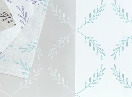 New Textile & Wallpaper Design: Olive Branch
