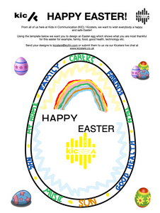 Kicsters Thankfulness Inspired Easter egg Design