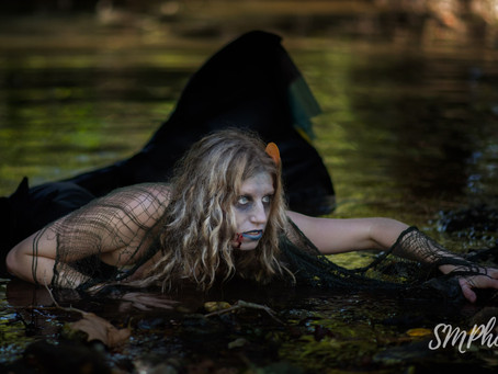My Zombie Mermaid Photoshoot Experience