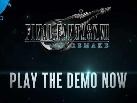 Analise da Demo de Final Fantasy 7 REMAKE