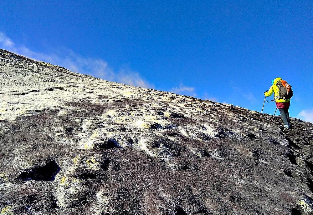 Выход на вершину вулкана Этна