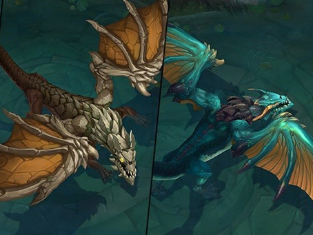 "Какие бафы дают ""Драконы"" и ""Барон Нашор"" в Wild Rift ?!"