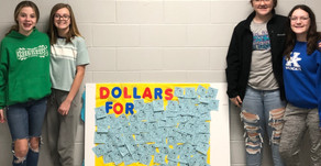 Stuart Pepper Middle students enthusiastically contribute to Australian endeavor