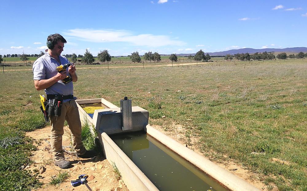Waterwatch trough installation