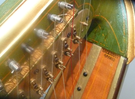 Imitation is the sincerest form of flattery: Mechanical borrowing in 19th century harp making
