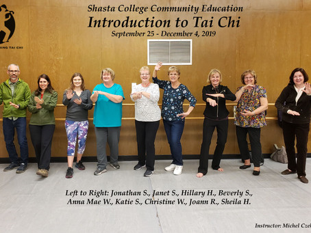 Congratulations to Intro to Tai Chi Students!