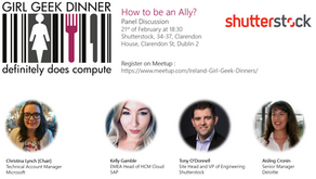 """""""How to be an Ally?"""" Panel by Girl Geek Dinner"""