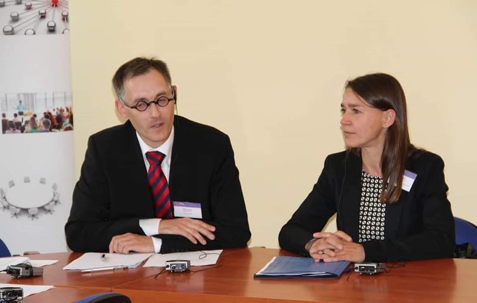 Enrico Triebel und Anne Quart