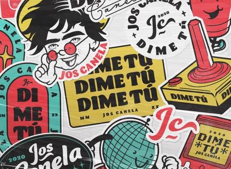 "Jos Canela inicia su etapa como solista estrenando ""Dime Tú"" 😍🎶"