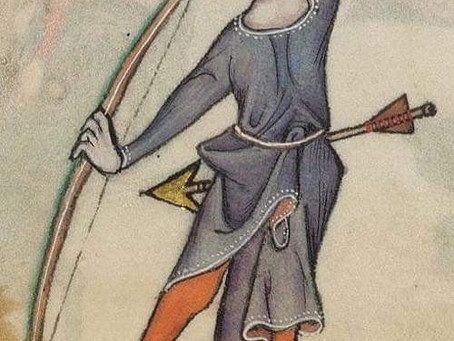 Six early medieval arrows