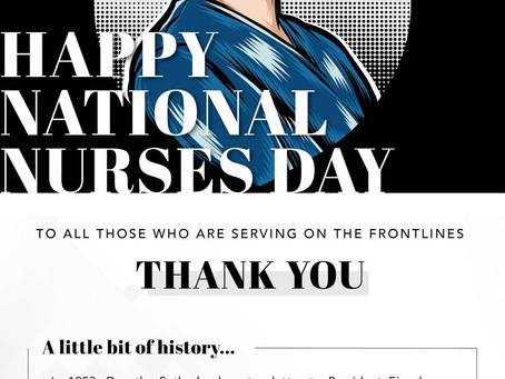 Happy National Nurses Day - Madison & Co Properties