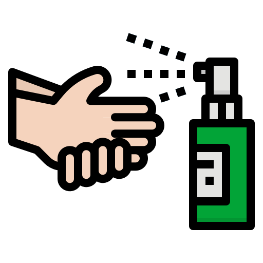 5859226 - gestures hands medical medication spray