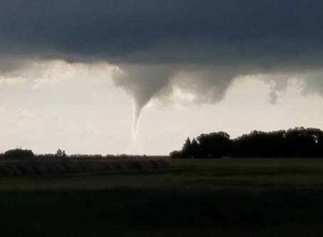Tornado touches down near Alexander, MB