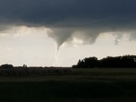 Tornado touches down near Alexander, MB
