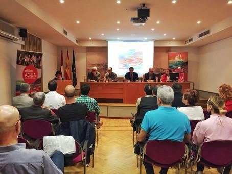 Aljibe presentó su libro-disco en la Biblioteca de Castilla-La Mancha