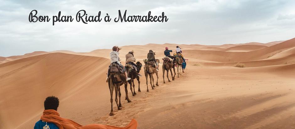 Code promo: Logement en Riad à Marrakech