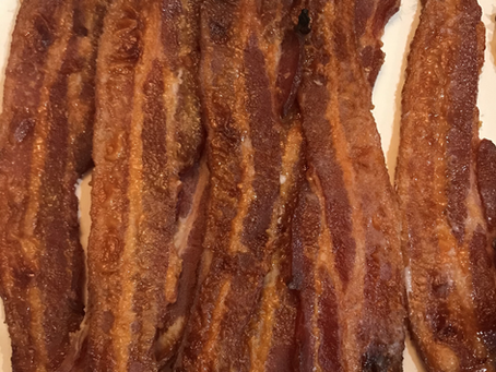 Three Ingredient Candied Bacon