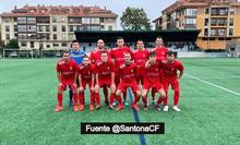 El Santoña CF asoma al precipicio 2-0