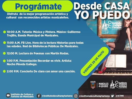 PROGRAMA TU VIERNES CON EL INSTITUTO DE CULTURA Y TURISMO