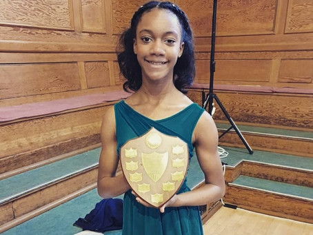 Ava Wins Felicity Jaffe Shield at 2020 Cecchetti Choreographic Competition