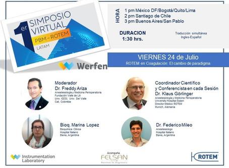 1st Virtual Symposium PBM-ROTEM LATAM - Second Session