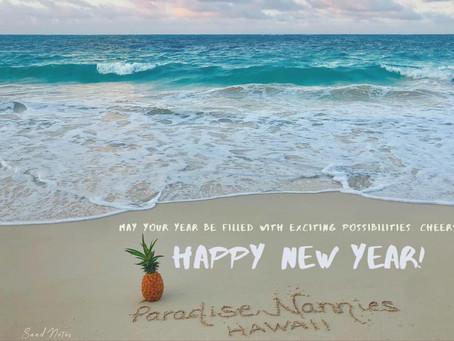 From Our Ohana to Yours, wishing you all a Hauʻoli Makahiki Hou!🥂🌟🎉