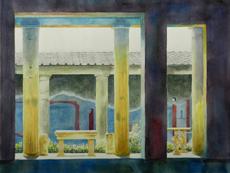 """""""Images of Pompeii"""" NOW on display at Orlando Science Center."""